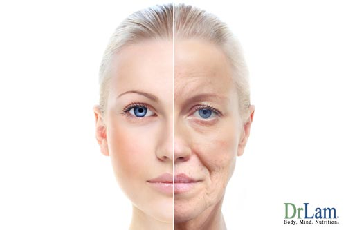 Aging problems can be reflected in your skin