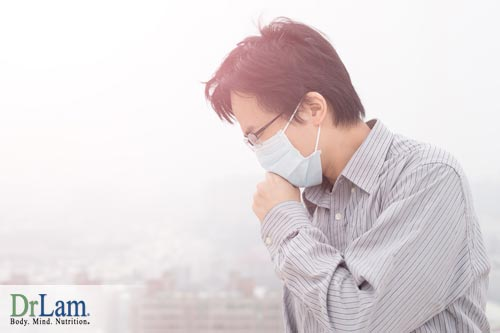 a polluted environment that leads to stress on the body