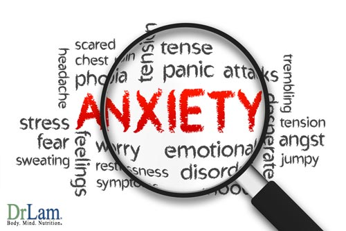 Anxiety and cellular aging