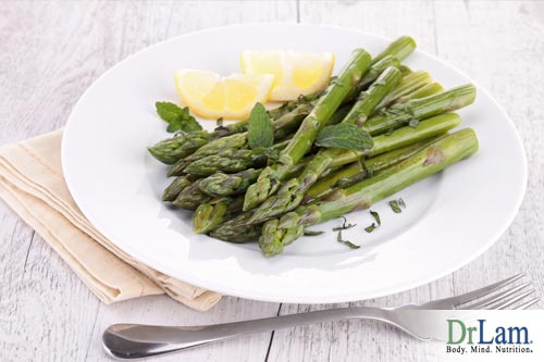 Asparagus with Ginger-Miso Butter
