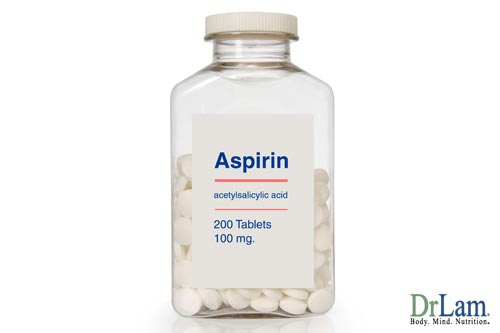 Natural blood thinners might not include aspirin