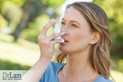 Alkaline drinking water and magnetized water may help those with asthma