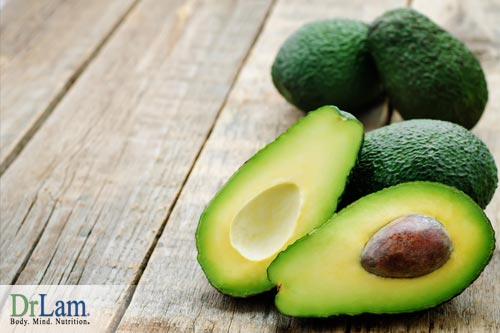 Liver cleansing diet includes avocados.