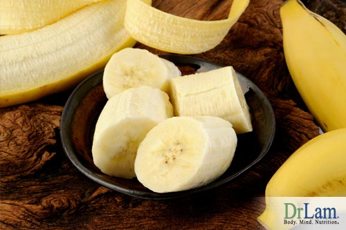 Bananas and potassium daily vitamin requirements