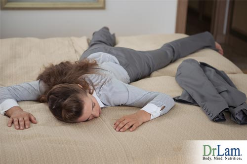 If you are constantly tired and never have energy, this exhaustion may point at adrenal gland fatigue