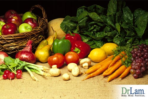 The benefits from fruits and veggies are a vital part of health