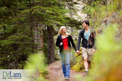 Physical and psychological benefits from walking