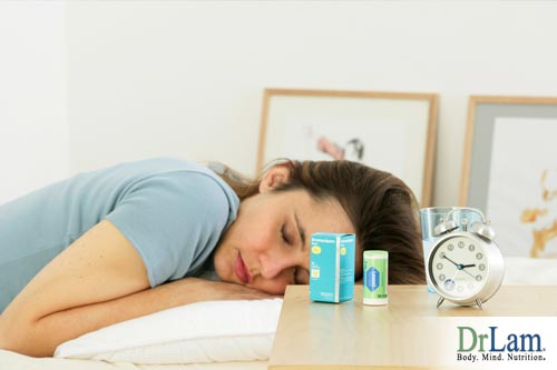 The use of sleep medicine and neurotransmitters function disruption