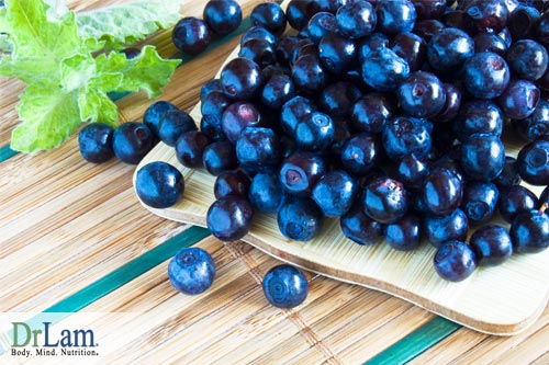 Blueberries as natural inflammation remedies
