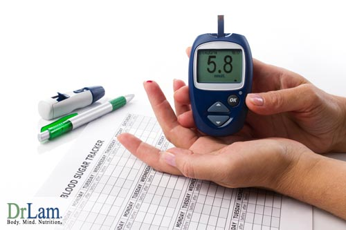 Symptoms of blood sugar level issues, exhaustion and menopause