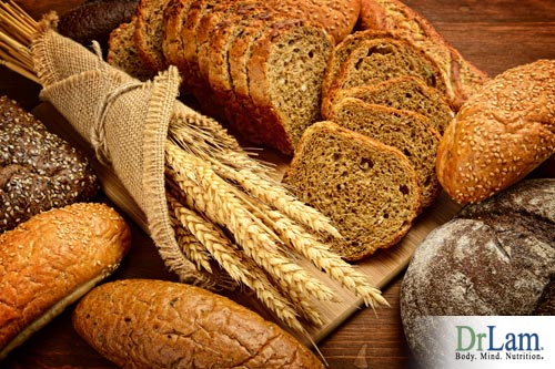 Avoid bread to prevent gout
