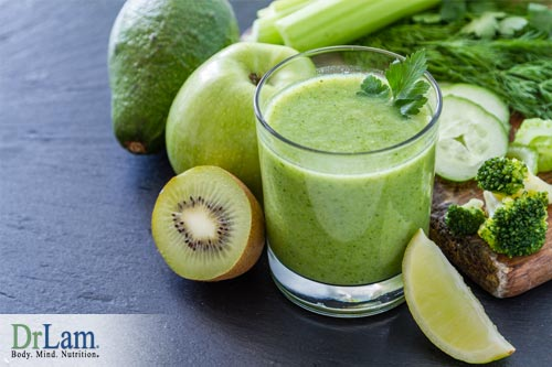 Delicious smoothie for breakfast on the Dr Lam Adrenal Fatigue diet