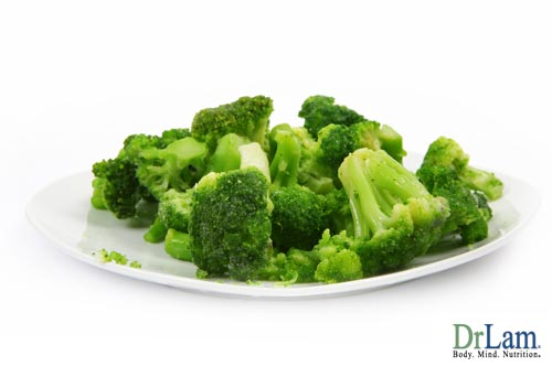 Broccoli and cancer prevention vitamins
