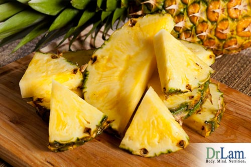 systemic enzyme therapy using pineapple