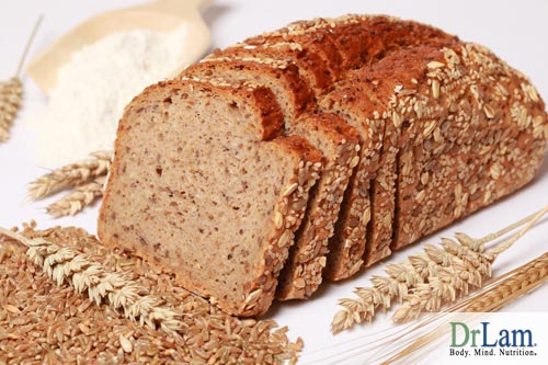 Eating bread with Unrefined carbohydrates can improve your health.