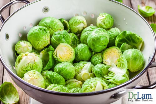 Brussel sprouts support the liver in detoxification