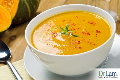 Curried Butternut Squash with Apple Soup