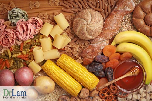 Sugar and aging and carbohydrates