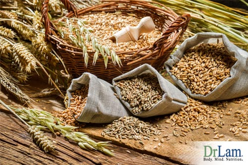 Cereal grains as folate supplements