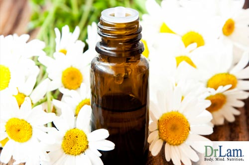 A congested chest can benefit from Chamomile oil