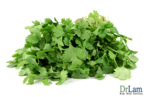 Heavy metal poisoning detox can be aided by Cilantro