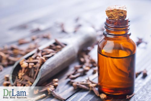 A congested chest can benefit from clover oil