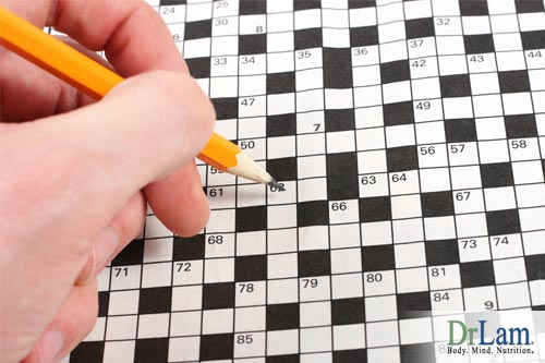 Cognitive exercises, including word puzzles, can combat adrenal failure symptoms.