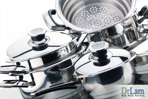 Heavy metal poisoning can be casued by certain types of cookware