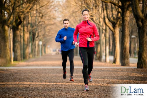 Jogging benefits include cortisol and endorphins