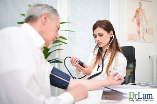 Postural blood pressure can be discussed with your Dr.
