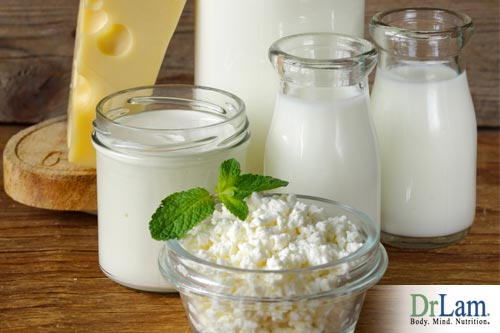 In the right amounts, dairy products act as liver-cleansing foods