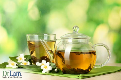 Green tea advantages do not need to include caffeine.