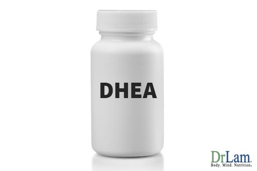Hormonal imbalance treatment with DHEA