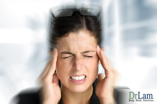 Postural blood pressure can cause a headache