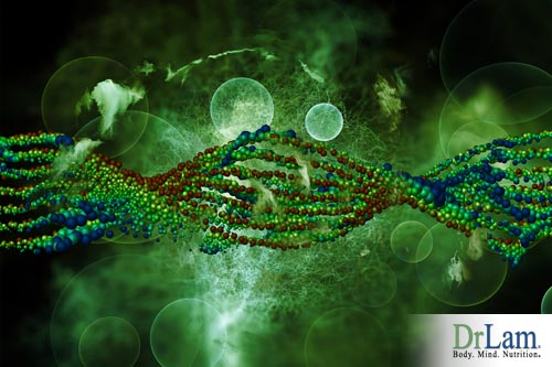 DNA reacts with metabolite levels in the body