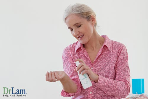 Progesterone cream and estrogen replacement