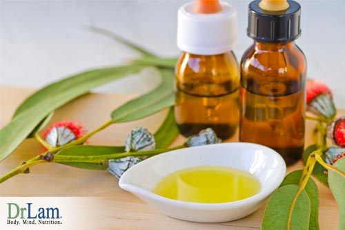 A congested chest can benefit from eucalyptus oil