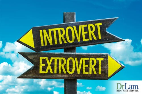 Extroverts compared to introverts and stress management styles