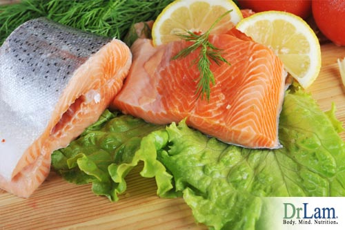 Fresh fish as a food for lifetime health