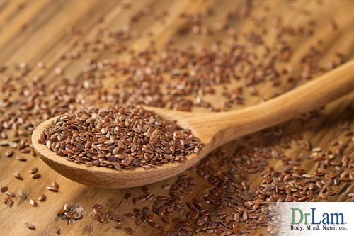Flax seed can be added to your power green smoothie.