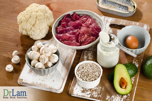Foods high in vitamin B5 are part of the diet to help autoimmune condition
