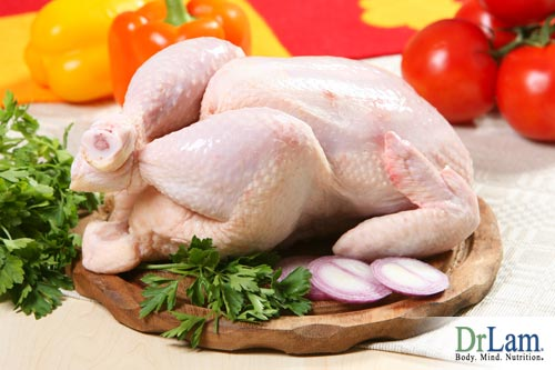 Free range chicken is one of the healthiest meats
