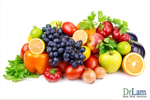 Stress relieving foods cna provide gental detox