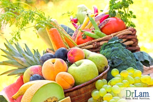 Some fruits and vegetables have elemental calcium