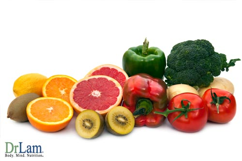 Fruits and vegetables are excellent Vitamin C sources