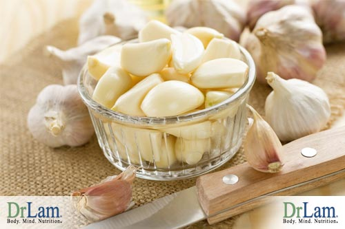Garlic is another alternative with Policosanol