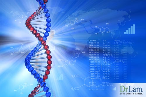 Genetic modification of DNA leading to Stress effects on health