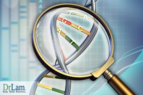 DNA strand representing heritability of defects that cause heart illnesses