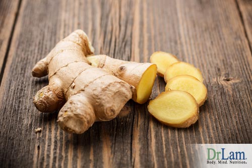 Chronic inflammation can be reduced by using ginger.