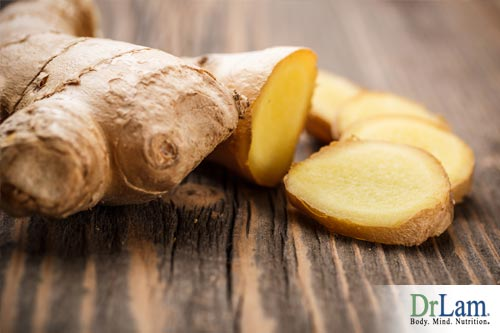 Ginger and herbs for the heart